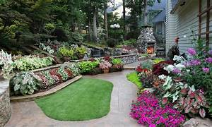 Low bed ideas, back yard affordable landscaping ideas back