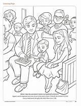 Coloring Lds Primary Pages Jesus Friend Sacrament Lesson Baptism Christ Church Printable Magazine Covenants Clean Living Activities Lessons Baptismal Remember sketch template