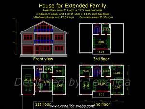 House floor plans 50-400 sqm designed by Teoalida