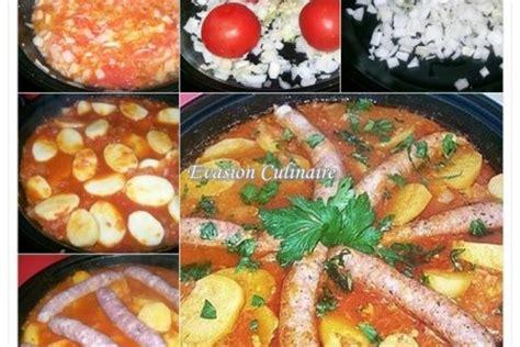 cuisiner des merguez tajine de pommes de terre aux merguez
