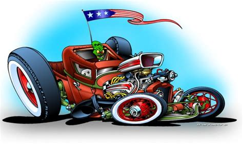 images  hotrod cartoons  pinterest