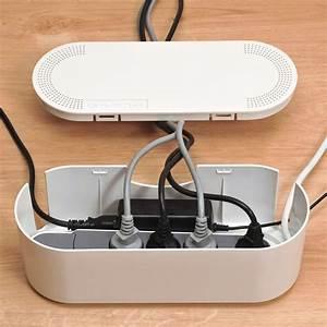 Boite Pour Cable Electrique : cacher cable trendy cacher les fils de la tv la comment ~ Premium-room.com Idées de Décoration