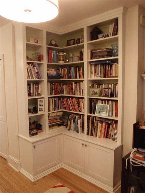 white corner bookshelf corner bookshelf  tricky