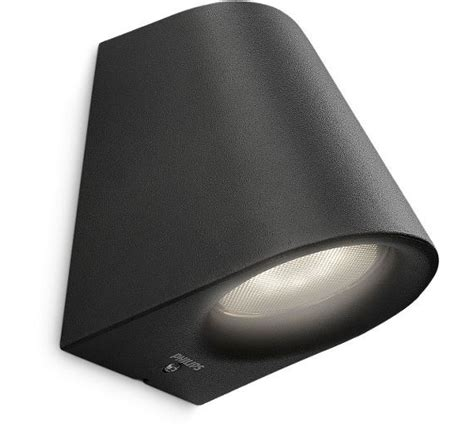 buy philips mygarden virga led wall light black at argos