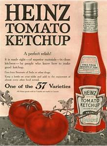 Heinz, USA (1910) vintage brand advertising | Vintage ...