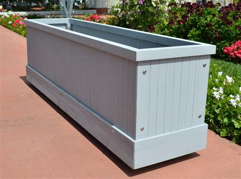large planter box planters glamorous large rectangular planters large