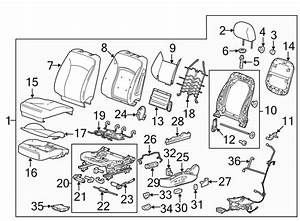 2015 Chevrolet Malibu Seat Trim Panel  W  8