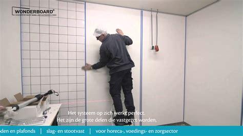 wonderboard haccp hygienische wand en plafondpanelen