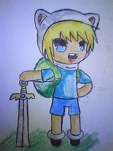 Adventure Time Chibi Finn by MarionetteJ2X on DeviantArt