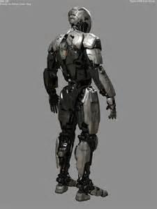 Exoskeleton Suit Female Concept Art