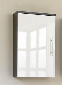 Badezimmer Hängeschrank Weiß : badezimmer h ngeschrank hochglanz weiss in 6 dekoren ebay ~ Watch28wear.com Haus und Dekorationen