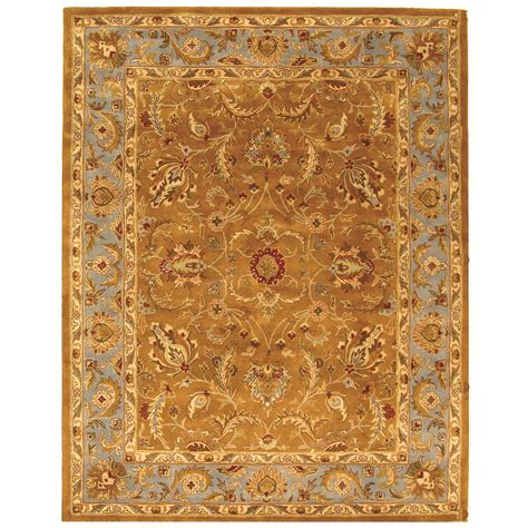 tufted area rugs safavieh tufted heritage brown blue wool area rugs