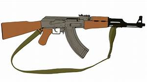 Ak 47 Drawing - ClipArt Best