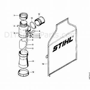 Stihl Br 400 Backpack Blower  Br 400  Parts Diagram  K