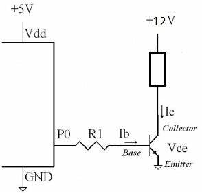 choosing the right transistor for a switching circuit With pnp transistor circuit with voltmeters right pnp transistor circuit