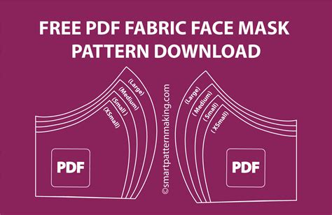 diy fabric face mask tutorial covid  smart pattern