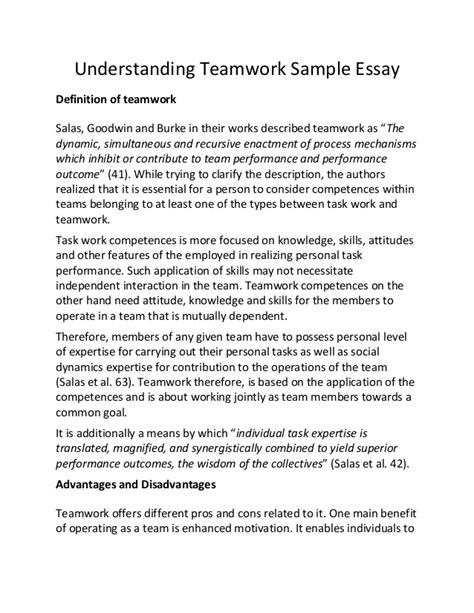 Teamwork Resume Exle by Research Paper On Teamwork 28 Images Resume Cv Cover Letter Term Research Paper Outline 5 Of