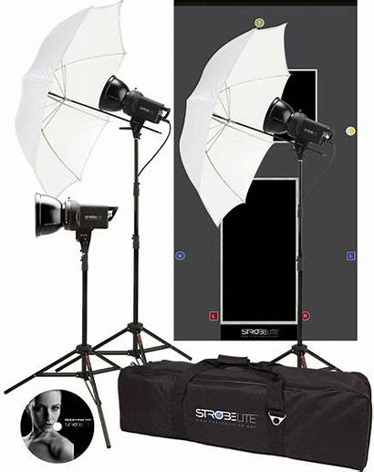 Tech Hi Monolights Studio Westcott Strobelite Kit