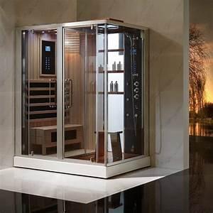 Sauna Hammam Prix : combin e douche hammam sauna thalia ii ~ Premium-room.com Idées de Décoration