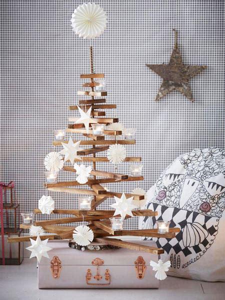 diy idee weihnachtsbaum selbermachen wunderweib