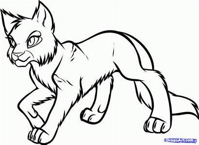 Warrior Cats Coloring Cat Pages Draw Yellowfang