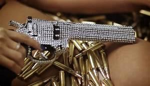 Diamond encrusted revolver   The hotness of handguns ...
