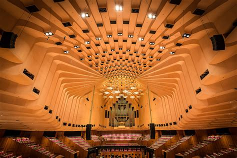 Inside Sydney opera house, Australia (Unesco world heritag