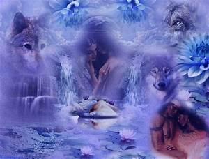 Free Native American Wolf Wallpaper | fond ecran loups ...