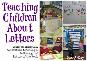 teaching children about letters With teaching letters to toddlers