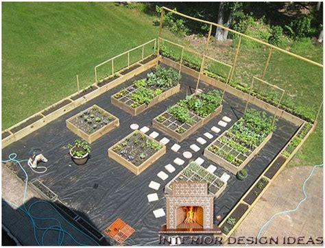 homeofficedecoration urban vegetable garden layout