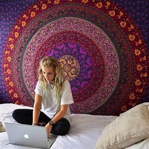 Tenture Murale Mandala Univers Zen
