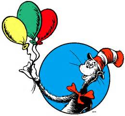 dr suess cat in the hat happy birthday dr seuss a book