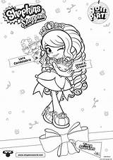 Coloring Shoppies Party Join Shopkins Pages Crown Jewel Lara Printable Candelabra Getcolorings Info Jo Colorings sketch template