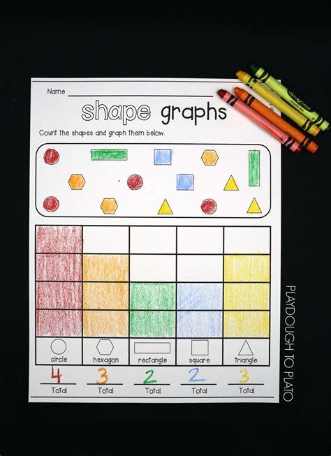 shape graphs playdough  plato