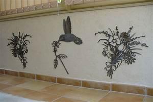 Decoration De Jardin En Fer Forgé Animaux : decoration murale fer forge exterieur ~ Teatrodelosmanantiales.com Idées de Décoration