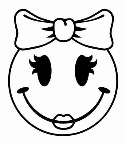 Emoji Kleurplaat Smiley Coloring Kleurplaten Faces Face