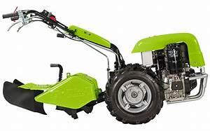 GRILLO G107D - LOMBARDINI 15LD440 Diesel Μοτοκαλλιεργητής