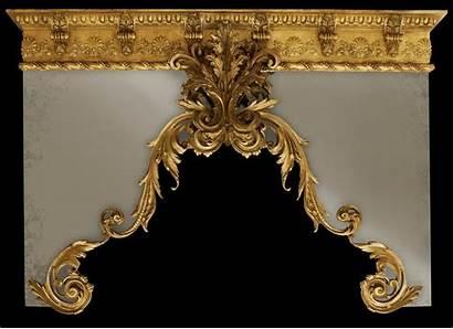 Cornice Gold Drapery Custom Window Finish Cornices