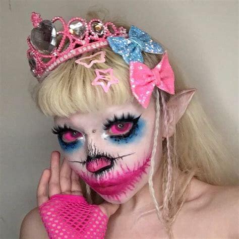 pin  worm  jazminbean aesthetic makeup fantasy makeup halloween face makeup
