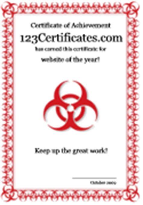 cool printable certificates  award templates