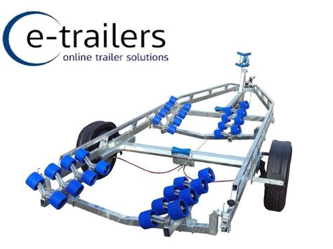 Boat Trailer Roller Cradle by 1900kg Roller Boat Trailer 32 Rollers With Swing