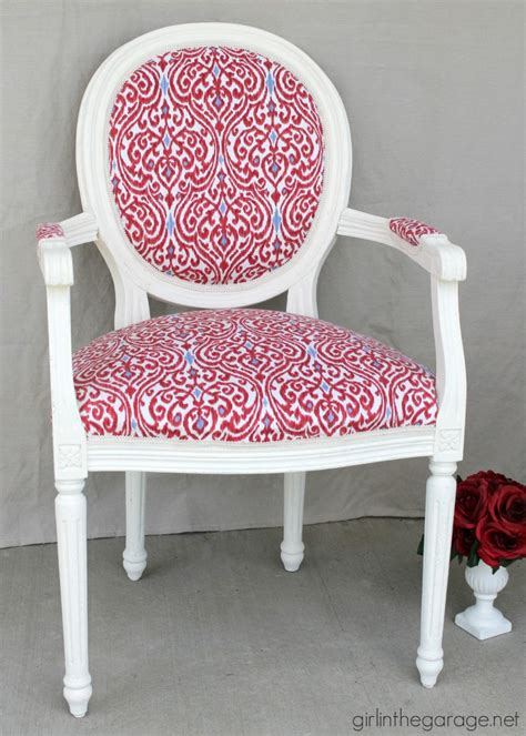 Getting A Chair Reupholstered by A Dozen Pretty Pink Furniture Makeovers Just A