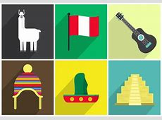 Vector Icons of Peru Download Free Vector Art, Stock
