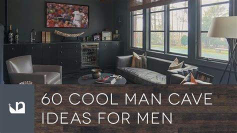 cool man cave ideas  men youtube