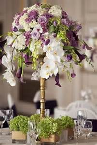 Purple Wedding Flower Centerpieces