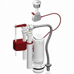 Chasse D Eau : m canisme chasse d 39 eau universel 3 6 litres avec flotteur ~ Melissatoandfro.com Idées de Décoration