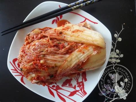 chou chinois cuisine kimchi de chou chinois pé tsaï protéines gourmandes