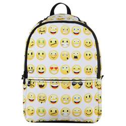 home interior ebay emoji backpack smiley mood day pack backpack boy