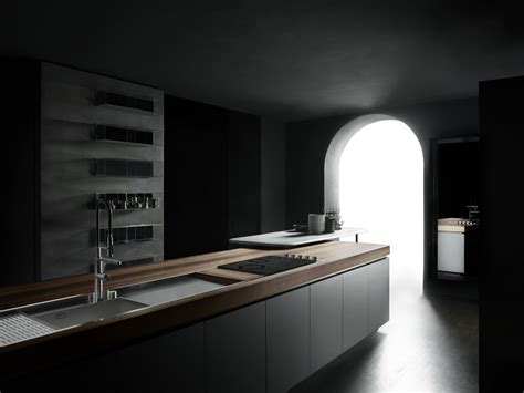 boffi cuisines cuisine intégrée avec îlot boffi code kitchen by boffi
