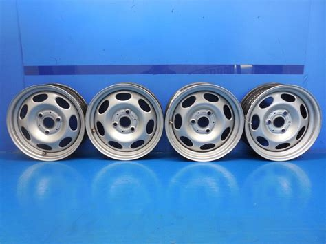 Smart Car Fortwo Passion Pure Oem Set Front & Rear Wheels